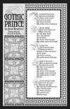 Lettering and design by Gary Scott Beatty. Written by Paul Bradford. Gothic Prince is copyright Paul Bradford.
